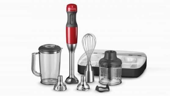mixer de mão de cinco velocidades kitchenaid