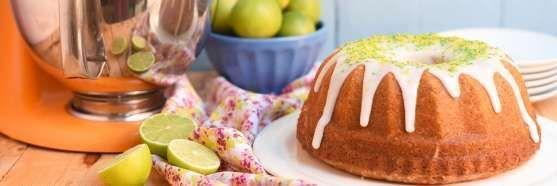 bolo de limão com glacê
