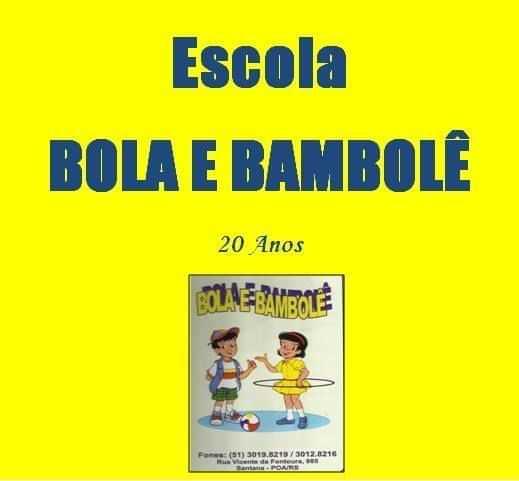 Escola Bola e Bambolê