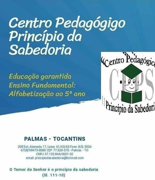 CENTRO PEDAGÓGICO PRINCIPIO DA SABEDORIA - foto 4