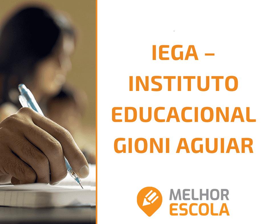 IEGA – Instituto Educacional Gioni Aguiar
