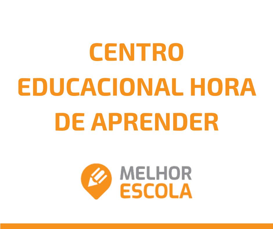 Centro Educacional Hora De Aprender