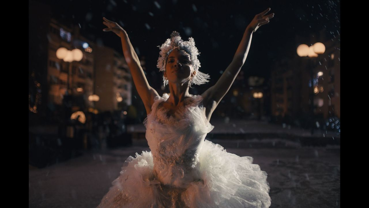 TAÏS the ballerina for Amazon's Christmas Advert