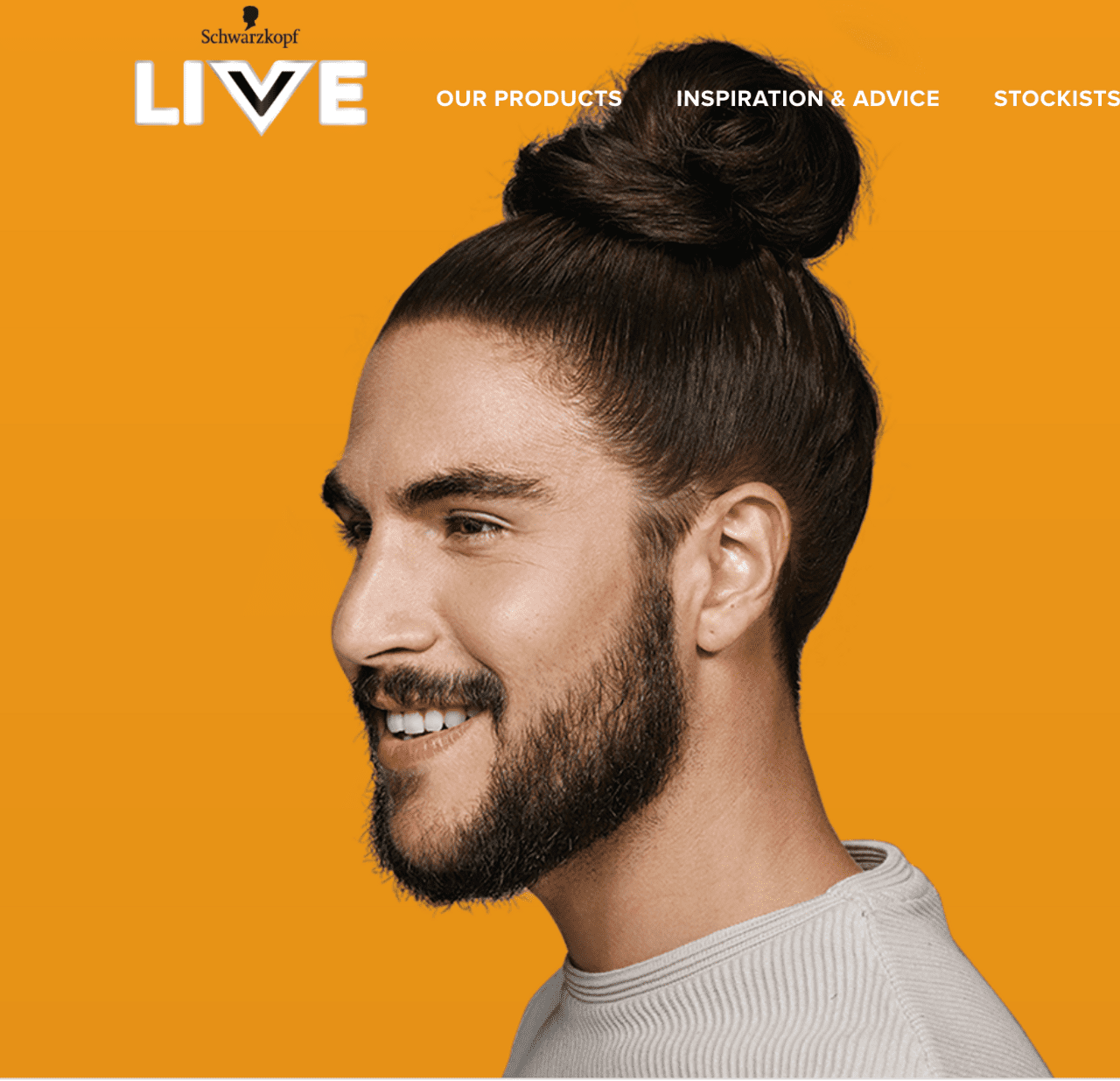 KOSTAS for Schwarzkopf Live Colour campaign