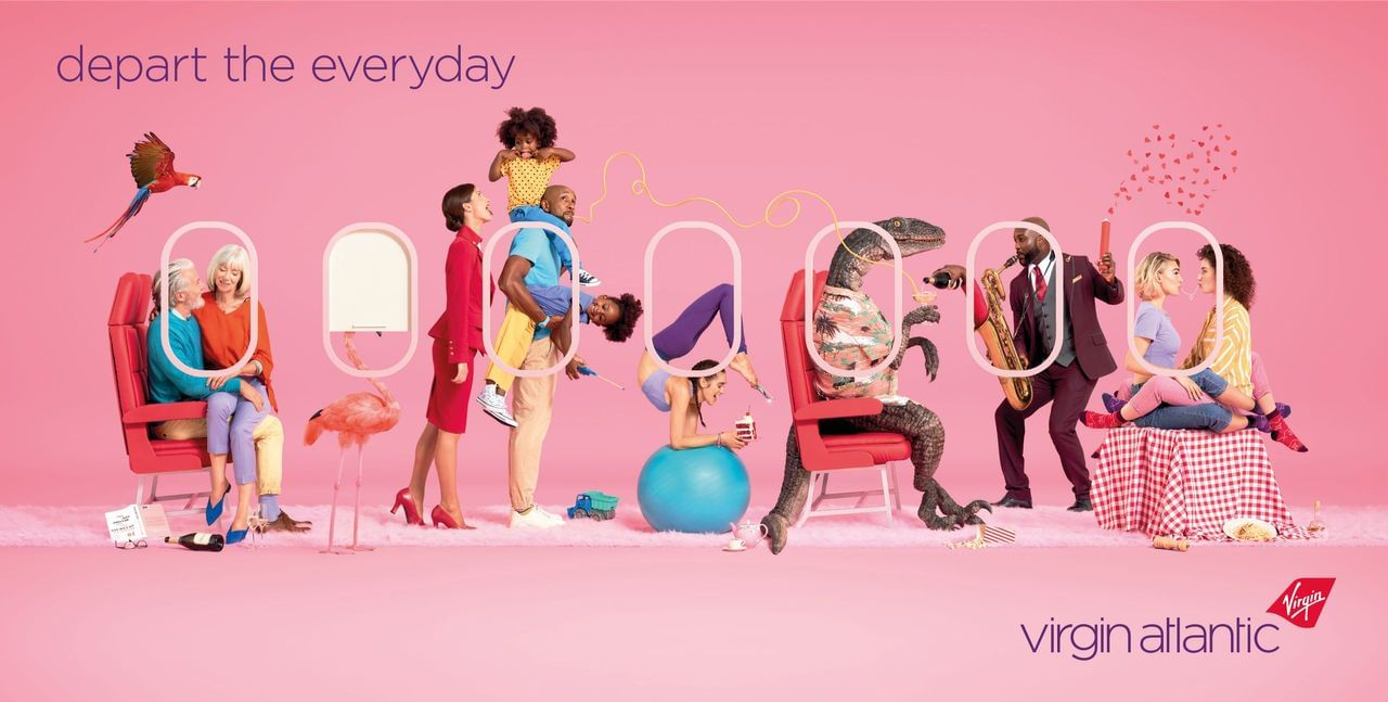 Virgin Atlantic Campaign