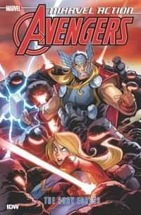 Marvel Action Avengers TP Ruby Egress