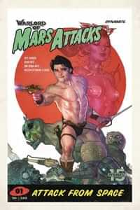 Warlord of Mars Attacks #1 CVR D Caldwell
