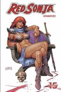Red Sonja #5 CVR B Linsner