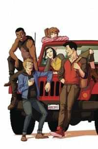 Go Go Power Rangers Forever Rangers #1 CVR B Anka