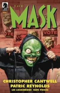 Mask I Pledge Allegiance to the Mask #1 CVR A Reynold