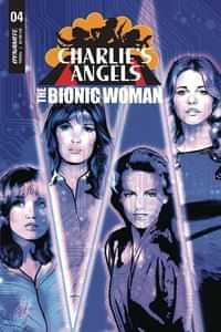 Charlies Angels Vs Bionic Woman #4 CVR A Staggs