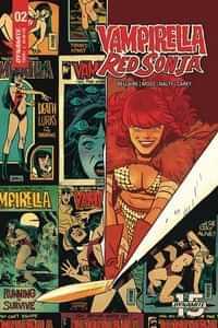 Vampirella Red Sonja #2 CVR D Romero and Bellaire