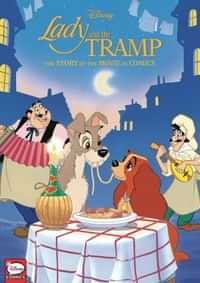 Disney Lady and The Tramp HC Movie In Comics