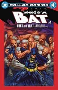 DC Dollar Comics Batman Shadow Of The Bat #1