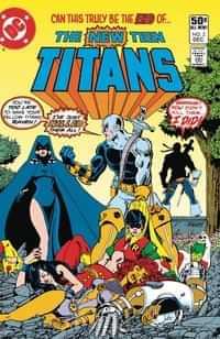 DC Dollar Comics The New Teen Titans #2
