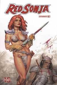 Red Sonja #13 CVR B Linsner