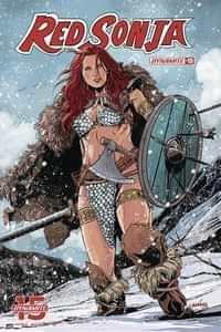 Red Sonja #13 CVR D Laming