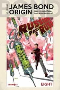 James Bond Origin #8 CVR A Panosian