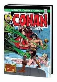 Conan the Barbarian HC Original Marvel Years Omnibus CVR B