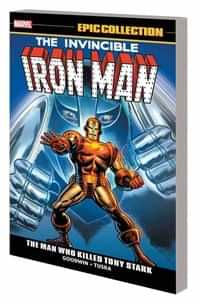 Iron Man TP Epic Collection Man Who Killed Tony Stark