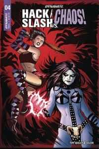 Hack Slash Vs Chaos #4 CVR B Cermak (mr)