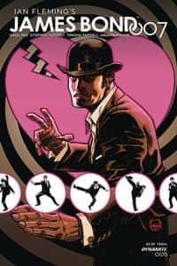 James Bond 007 #5 CVR A Johnson