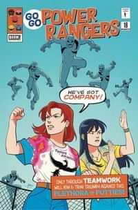 Go Go Power Rangers #18 CVR B Mok