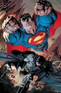 Batman Superman #8 CVR B Card Stock Kubert