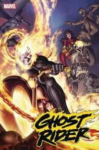 Ghost Rider #6 Variant Yoon Spider-woman Var