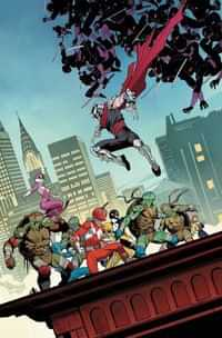 Power Rangers Teenage Mutant Ninja Turtles #4 CVR A Mora