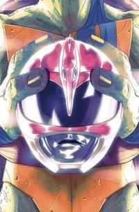 Power Rangers Teenage Mutant Ninja Turtles #4 CVR D Don Montes (c: