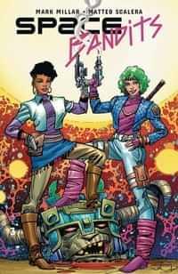 Space Bandits #3 Variant Legends Simonson
