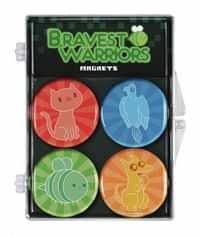 Bravest Warriors 4 Pack Magnet Set