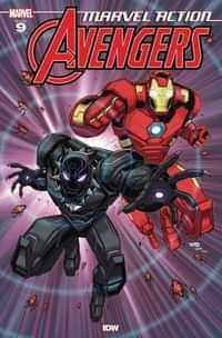 Marvel Action Avengers #9