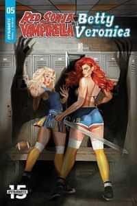 Red Sonja Vampirella Betty Veronica #5 CVR A Dalton