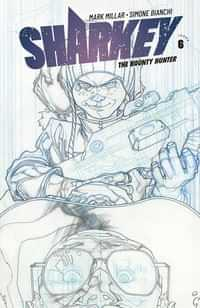 Sharkey Bounty Hunter #6 CVR B Sketch Bianchi