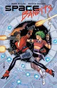 Space Bandits #2 CVR C Legends Garcia-lopez