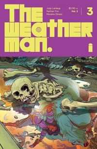Weatherman #3 CVR A Fox