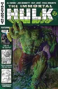 Immortal Hulk #1 Directors Cut