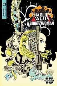 Charlies Angels Vs Bionic Woman #2 CVR B Mahfood