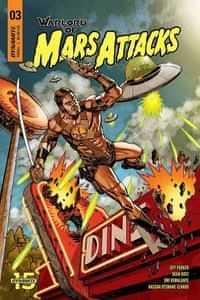 Warlord Of Mars Attacks #3 CVR A Johnson