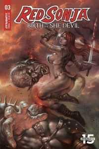 Red Sonja Birth of She Devil #3 CVR A Parrillo