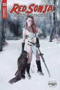 Red Sonja Birth of She Devil #3 CVR C Cosplay