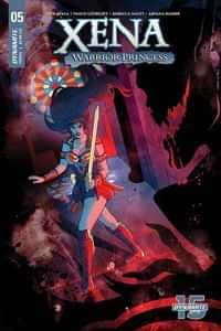 Xena Warrior Princess #5 CVR C Ganucheau