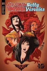 Red Sonja Vampirella Betty Veronica #1 CVR B Francavilla