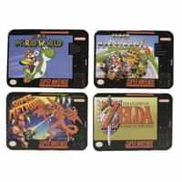 Nintendo Coasters Snes Game 4-pack