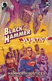 Black Hammer Justice League #1 CVR A Walsh
