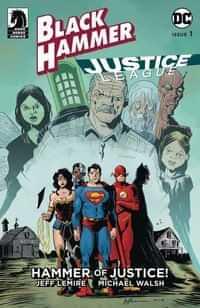 Black Hammer Justice League #1 CVR D Lemire