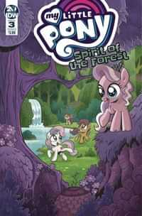 My Little Pony Spirit Of The Forest #3 CVR A Hickey