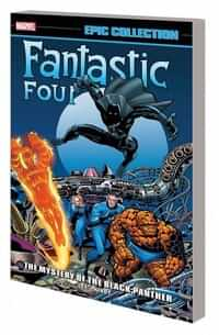 Fantastic Four TP Epic Collection Mystery of Black Panther
